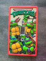 Vintage Teenage Mutant Ninja Turtles Light Switch Plate 1990 Mirage Home Decor