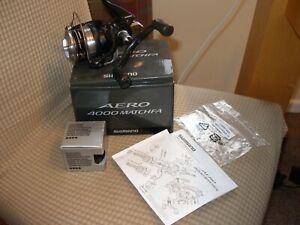 Shimano Aero Match 4000FA Reel + Spare Spool.- NEW