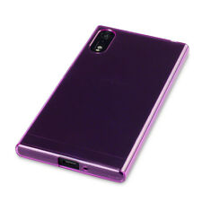 Sony Xperia XZ Protective Case Slim Rugged Armour Tech 2 TPU Flexible Gel Purple