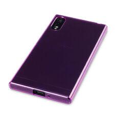 Xperia XZ Case Flexible Micro Shield Cover Impact  Rugged Bumper Purple