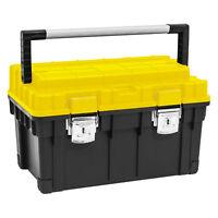 40 kg Werkzeugkiste leer Alugriff Werkzeugkasten Werkzeugbox Montage Koffer Werk