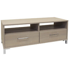 Two Drawer Entertainment Storage Unit / TV Cabinet Table - Light ZAS033904001