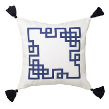 Logan and Mason Kowloon Navy Square Filled Cushion 45cm x 45cm
