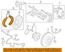 NISSAN OEM Parking Brake-Shoes D4060CA01A