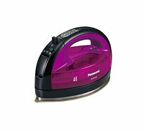 Panasonic cordless steam W head iron Violet NI-WL504-V
