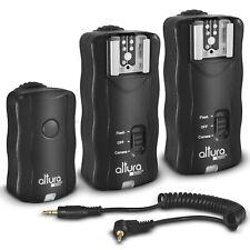 (2 Trigger Pack) Altura Photo Wireless Flash Trigger for Canon w/Remote Shutter