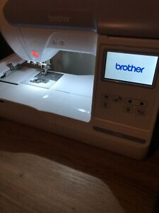 """Brother PE800 5x7""""  Embroidery Machine - White"""