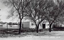 Real Photo Postcard Municipal Swimming Pool in Wahoo, Nebraska~130890
