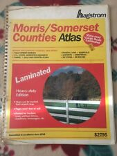 Hagstrom Morris, Somerset Counties Atlas: Large Scale Laminated Edition