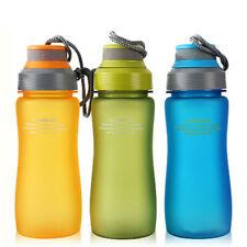 Tour Outdoor Sport Water Bottle 600ml Leak Proof Plastic Drinkware BPA-free