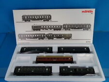 "Marklin 42765 DRG Bavarian Car Set ""Express Train Passenger Car Set"" NEW"