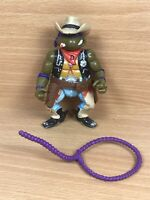 CRAZY COWBOY - TMNT - Original Teenage Mutant Ninja Turtles + Lasso VINTAGE Rare
