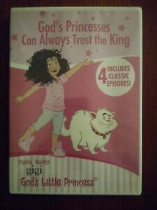Gigi God's Princesses Can Always Trust the King DVD NEW