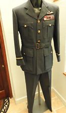 Military Air Vice Marshall RAF DFC AFC Bars Full Uniform Tunic Pilot Wings(5173)
