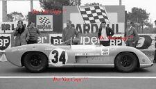 Johnny Servoz-Gavin & Herbert Muller MATRA MS630/650 Le Mans 1969 Photographie 1