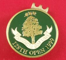 Golf HATCLIP Magnetic Ball Mark Ballmark Ballmarker RARE 1999 British Open Green