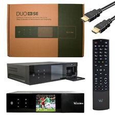 VU+ DUO 4K SE ✓UHD SAT Receiver ✓ 1x DUAL FBC DVB-S2/X  ✓ UHD 2160p ✓ IPTV ✓ PVR