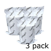 3pk - PLASTER of Paris BANDAGE Craft Cast Roll / Cloth Casting Tape 4in x 5yd