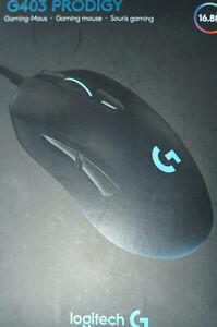 Logitech G403 Prodigy Maus - Schwarz