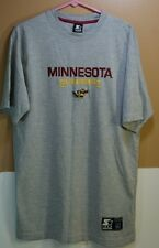 Minnesota Gophers Embroidered T-Shirt - Athletic Gray - Men's M