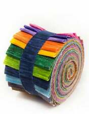2.5 inch Kaleidoscope Jelly Roll 100% cotton fabric quilting strips 18 strips