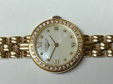 Longines Polished Solid Gold Case Wristwatches