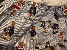 Ralph Lauren Bears Bed Skirt Queen size as new