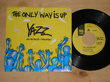 """YAZZ AND THE PLASTIC POPULATION - THE ONLY WAY IS UP - 45 GIRI 7"""" ITALY"""