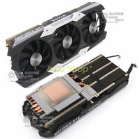 For  ZOTAC GTX1080Ti AMP EXTREME Radiator Cooling Fan Assembly(No graphics card)