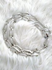 Chain Belt Chrome-Colored Size S