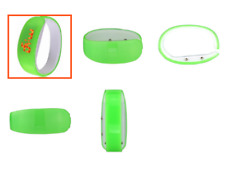 Konektopshop LED Bracelet Digital Bangle Watch - Neon Green