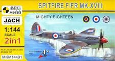 Mark I Models 1/144 SUPERMARINE SPITFIRE F/FR Mk.XVIII Fighter 2-in-1 Double Kit