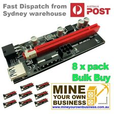 GPU Riser Ver009s Pci-e Card PCIe 1x to 16x Data Cable for Crypto Mining Rig