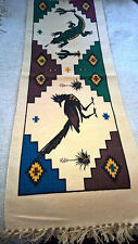 """New Southwest  Table Runner Coton Stencil 13"""" x 72 """" Southwestern"""