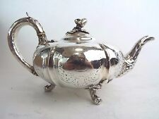 Teapot Naturalistic Sterling Silver Paul Storr Mortimer Samuel Hunt London 1851