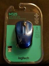 NEW Logitech M325 (910002650) Wireless Mouse Blue
