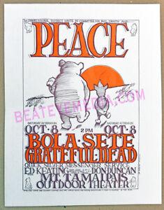 STANLEY MOUSE-RICK GRIFFIN-GRATEFUL DEAD-COMIC ART-CONCERT POSTER-winnie pooh