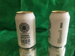 DHARMA initiative BEER ( NO Alcohol) Can- LOST TV  SHOW ABC