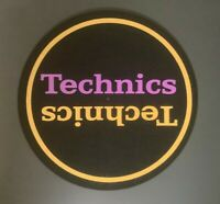 Technics Purple & Gold Dj Slipmats sl1200s mk5 m3d m5g or any turntable *Single