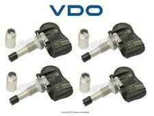 For Volvo C30 S80 C40 C70 Set of 4 433.92 MHz TPMS Sensors VDO REDI
