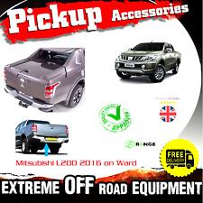 Mitsubishi L200 2016 2017 2018 Rear Back Chrome Bumper Steps bar step warr - M36
