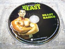 BODY BEAST Beachbody BEAST BASICS Only Replacement DVD