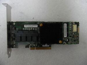Adaptec ASR-71605 16-Port 6Gbps PCIe RAID Card No BBU
