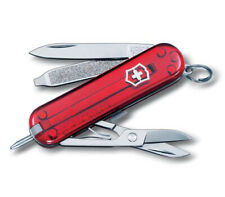VICTORINOX SIGNATURE 58 MM RED 7 FUNCTIONS KNIFE KEYCHAIN 0.6225.T
