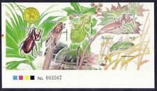 1998 Malaysia Stamp Week --- Insects Imperf Miniature Sheet Limited Edition Mint