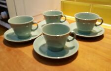 Vintage Woods Ware Beryl four Cups and Saucers