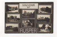 Souvenir Of Rusper Sussex Vintage RP Postcard 508b