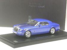 WOW: Kyosho Rolls Royce Phantom Coupé blau metallic in 1:43 in OVP