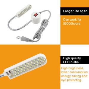 30LED Nähmaschine Lampe Licht mit Magnetfußschalter für Nähmaschinen Hot