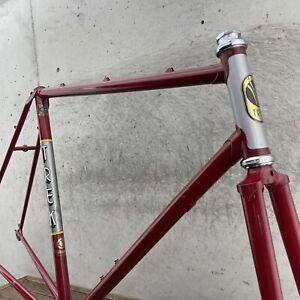 Vintage Trek Frame Set 1983 600 Reynolds 531 Lugged Steel 57 cm 22 in 1980s